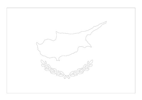 Bandera de la República de Chipre 2