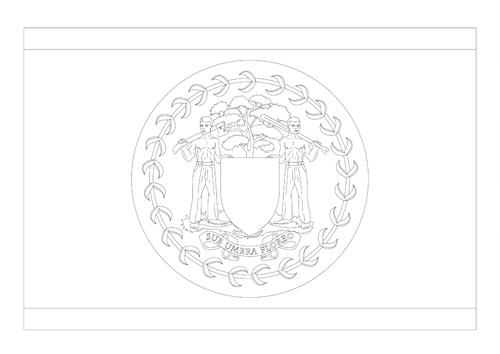 Bandera de Belice 4