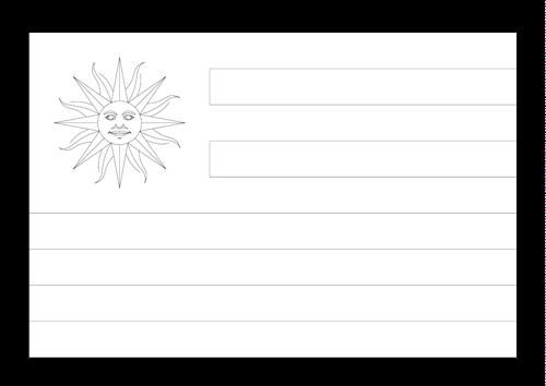 Bandera de Uruguay 2