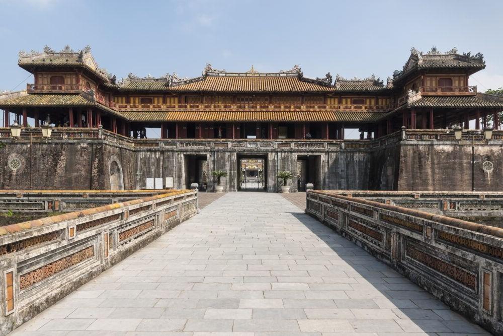 Ciudadela Imperial en Hue