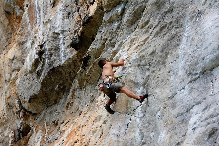 Escalada en roca tailandia