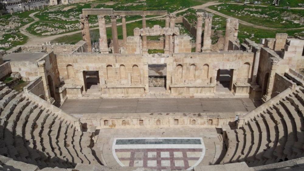Jerash Theatres