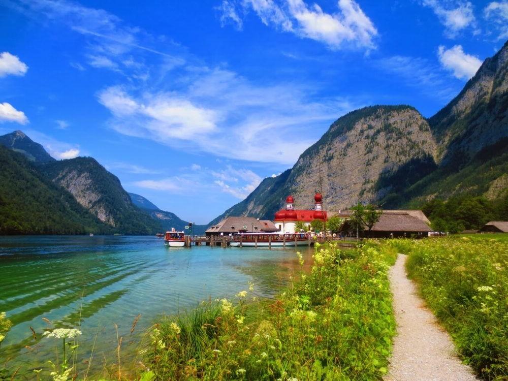 Los 12 lagos más hermosos de Alemania