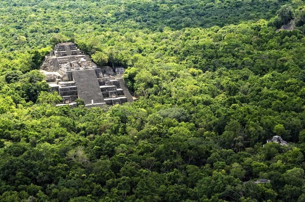 La Gran Pirámide (Calakmul)