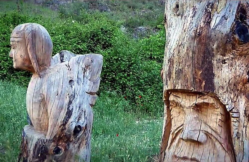 Ruta de las esculturas Bogarra Albacete 2