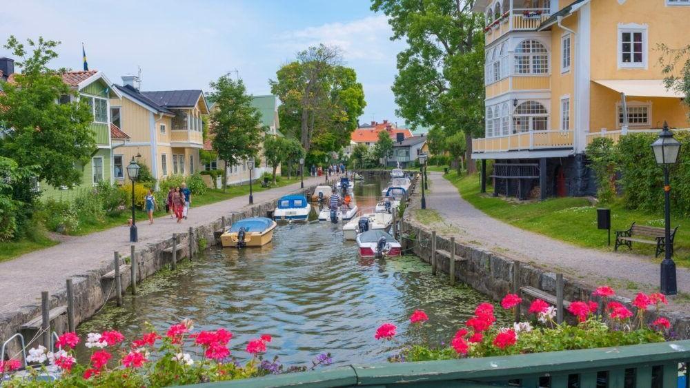 Las 15 ciudades más encantadoras de Suecia