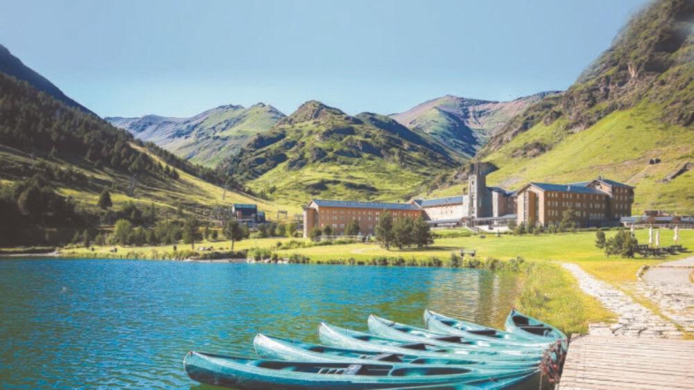 Vall de Nuria los Pirineos