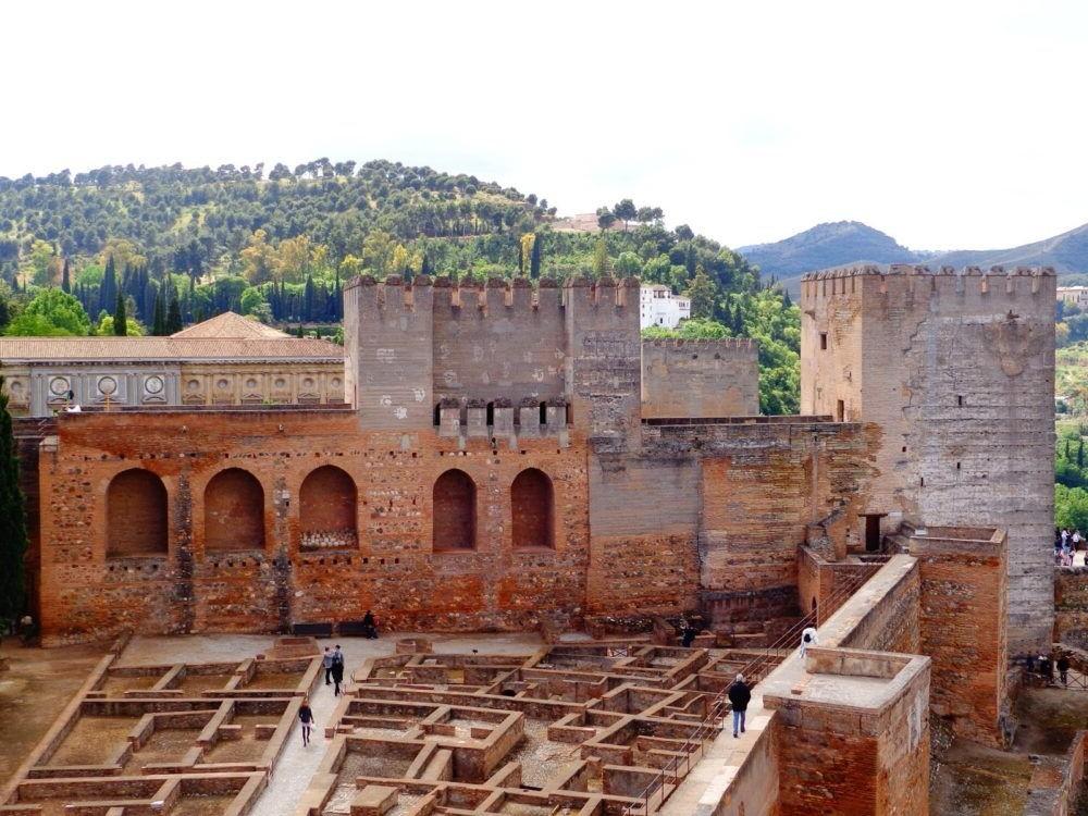 Alcazaba (dentro de la Alhambra)