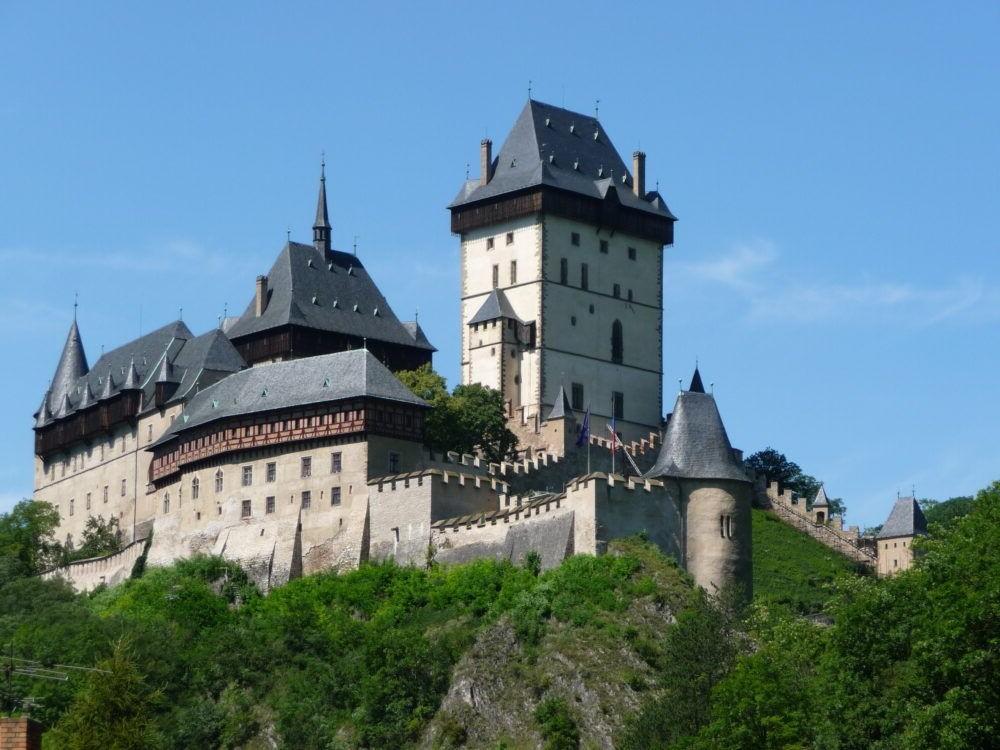 Los 10 castillos checos más bellos