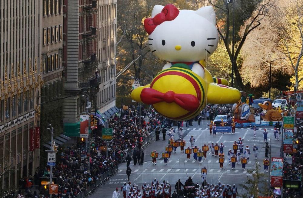 Desfile del Día de Acción de Gracias