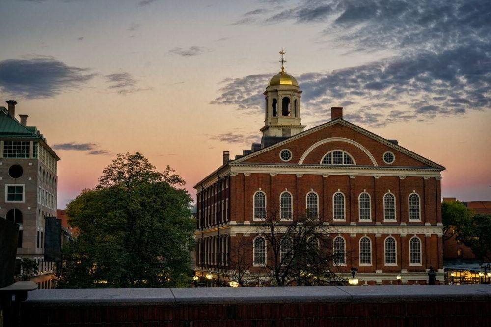 Faneuil Hall en Boston
