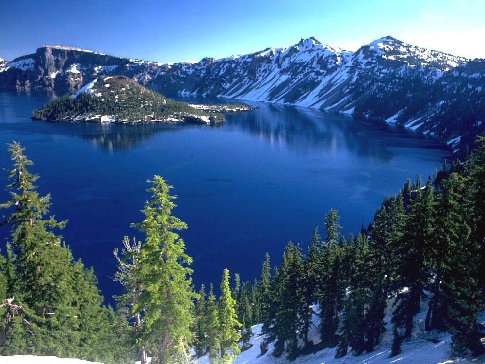 Lago del cráter (Oregón)