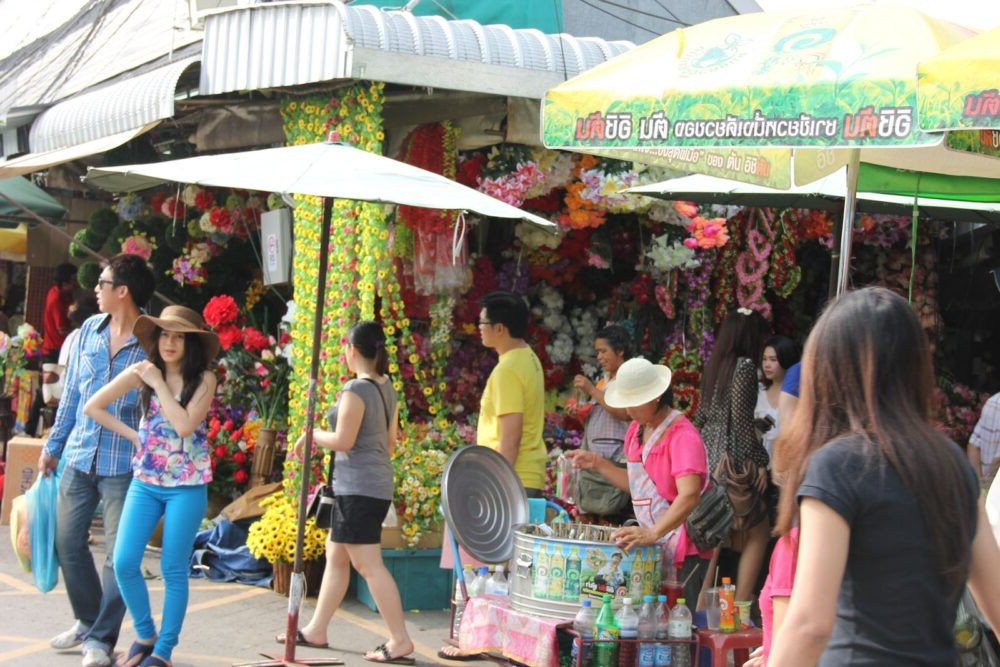 Mercado de fin de semana de Chatuchak