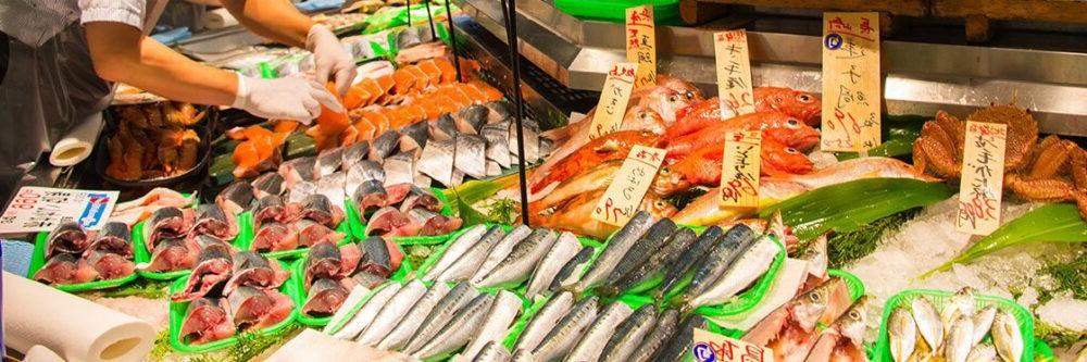 Mercado de pescado de Tsukiji Hama Rikyu