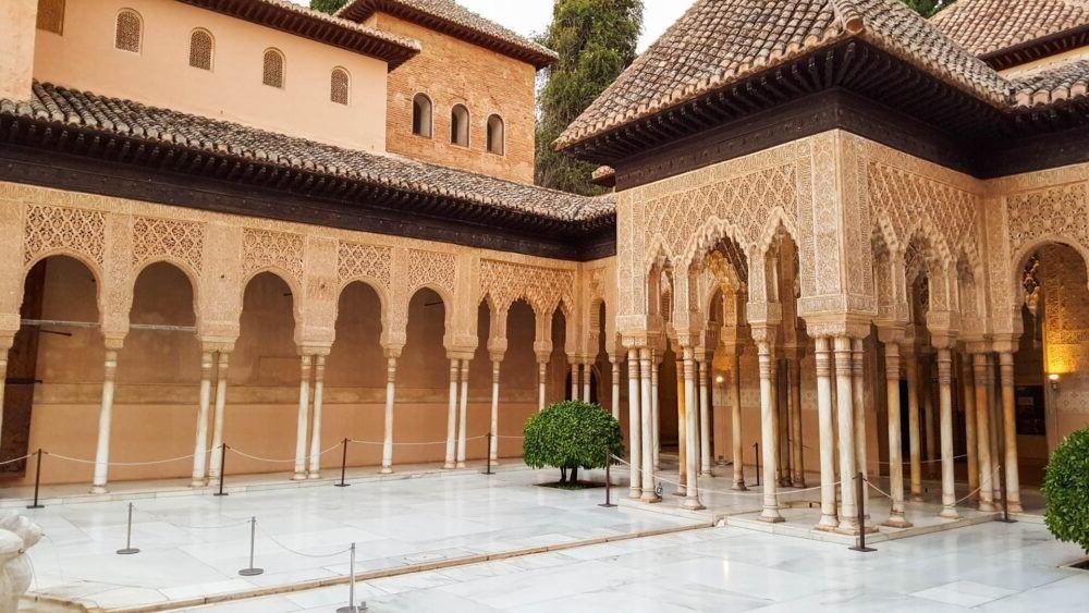 Palacios Nazaries (inside the Alhambra)