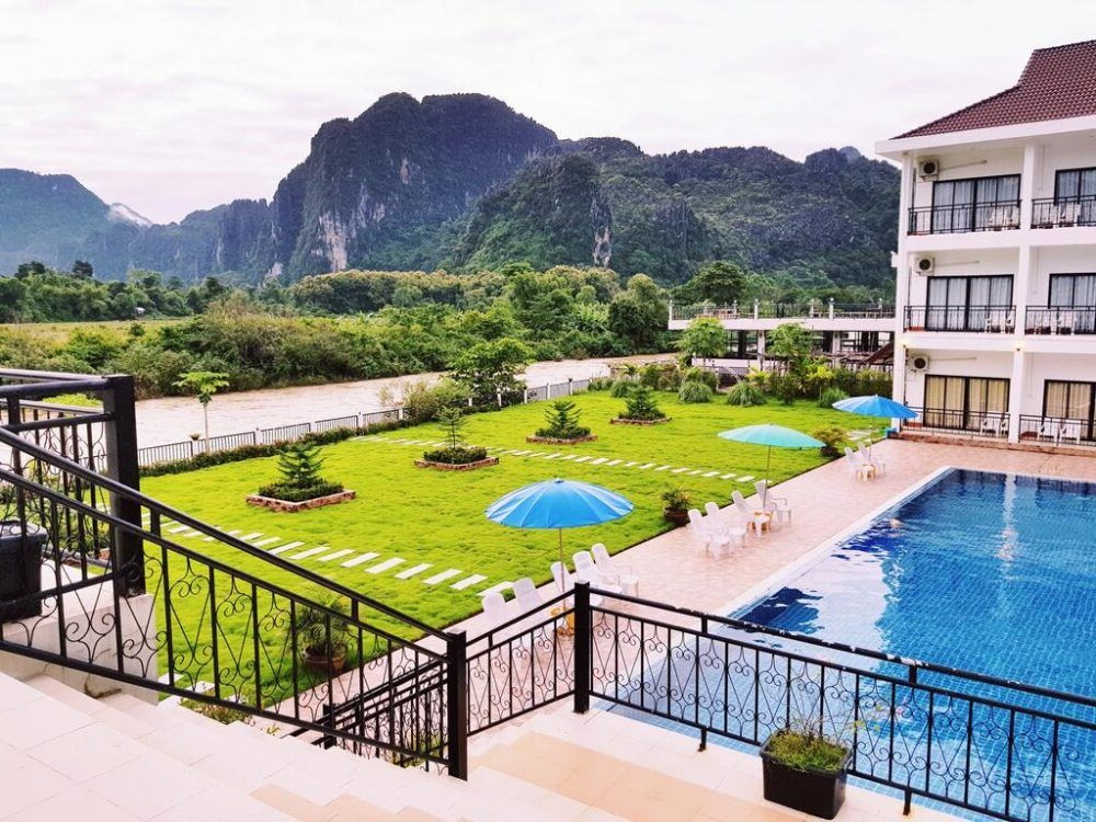 8 Mejores lugares donde alojarse en Vang Vieng