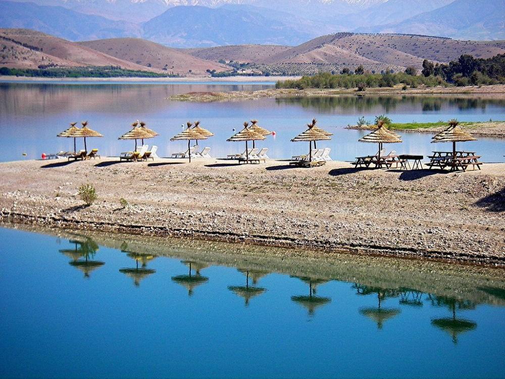Takerkoust Lake