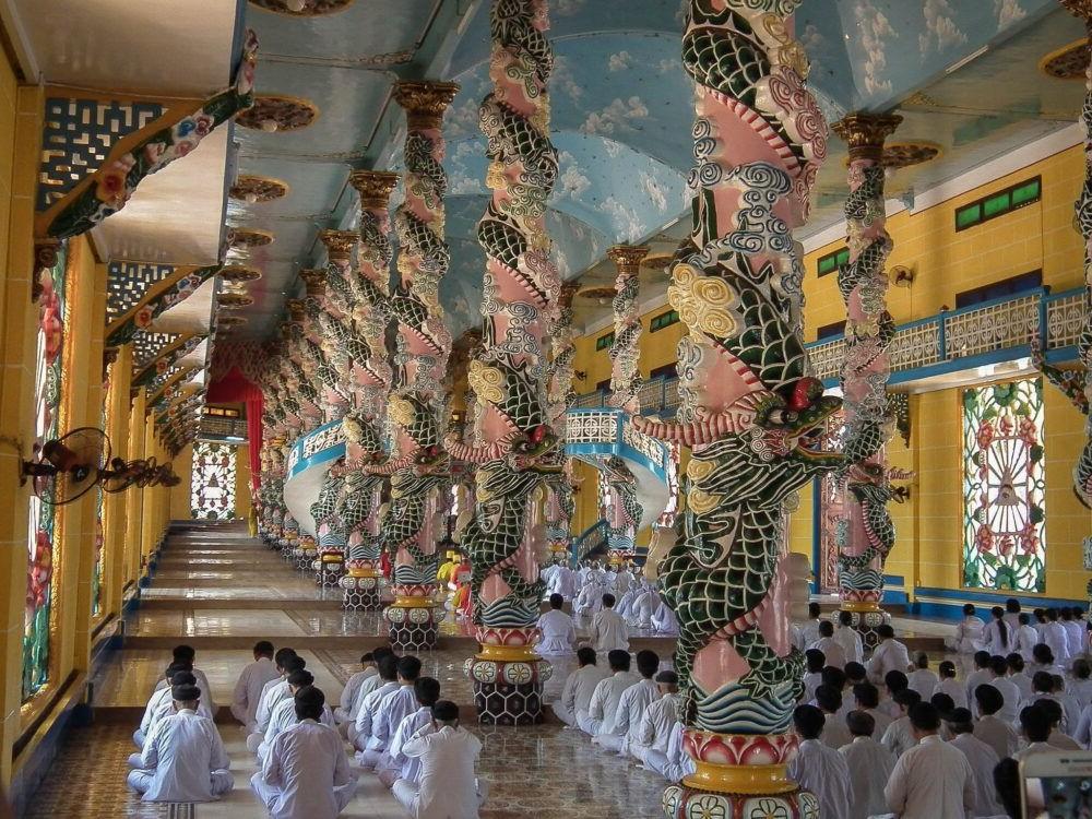 Tay Ninh Templo Cao Dai