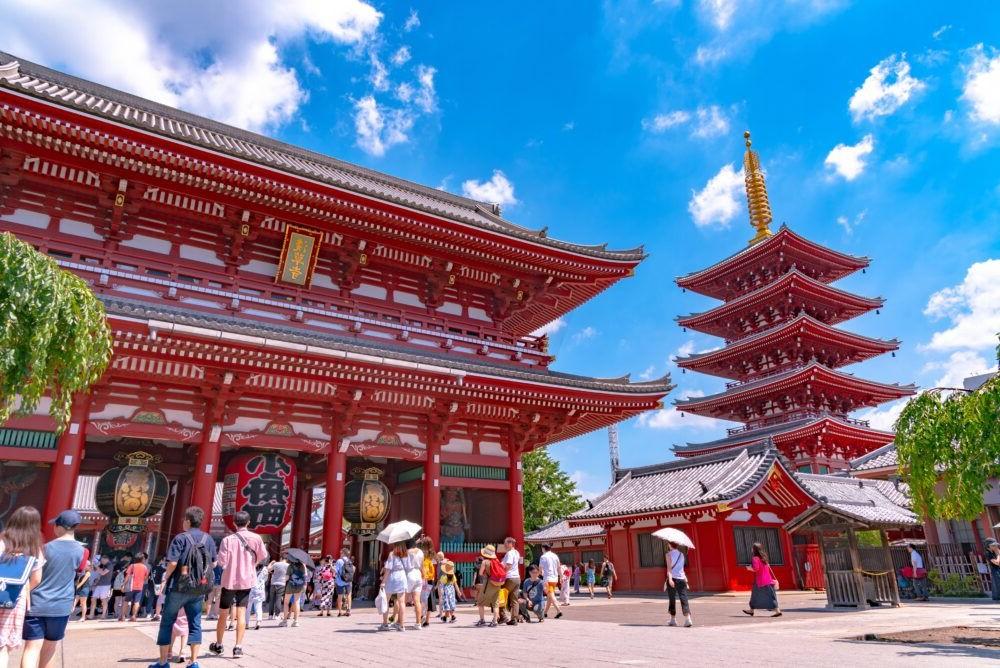 Templo Senso-ji, Asakusa-jinja Shrine Ueno
