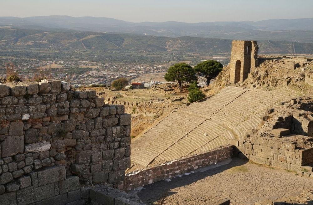Troya, Acrópolis de Pergamum
