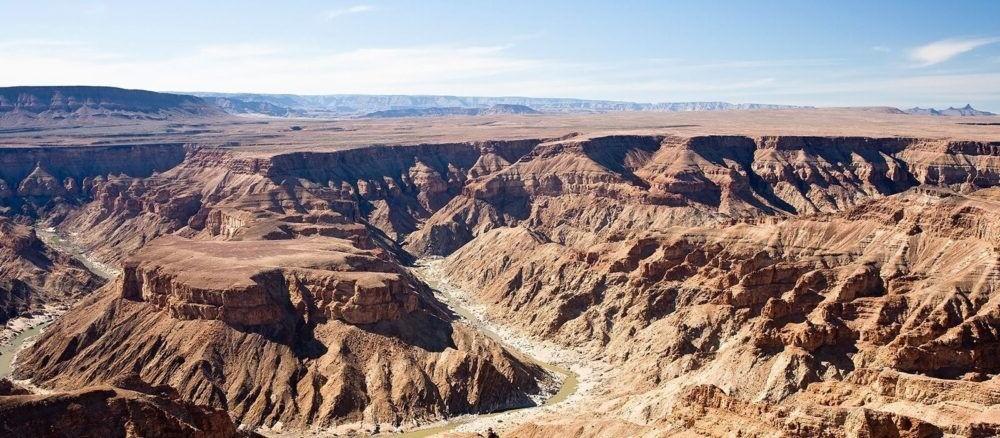 Atracción turística Fish River Canyon