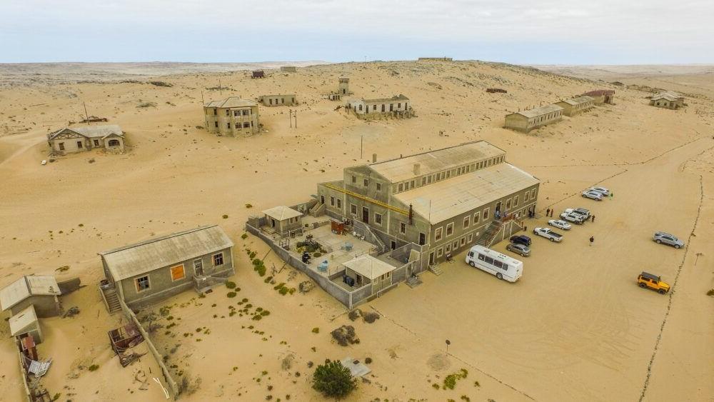 Atracción turística Kolmanskop