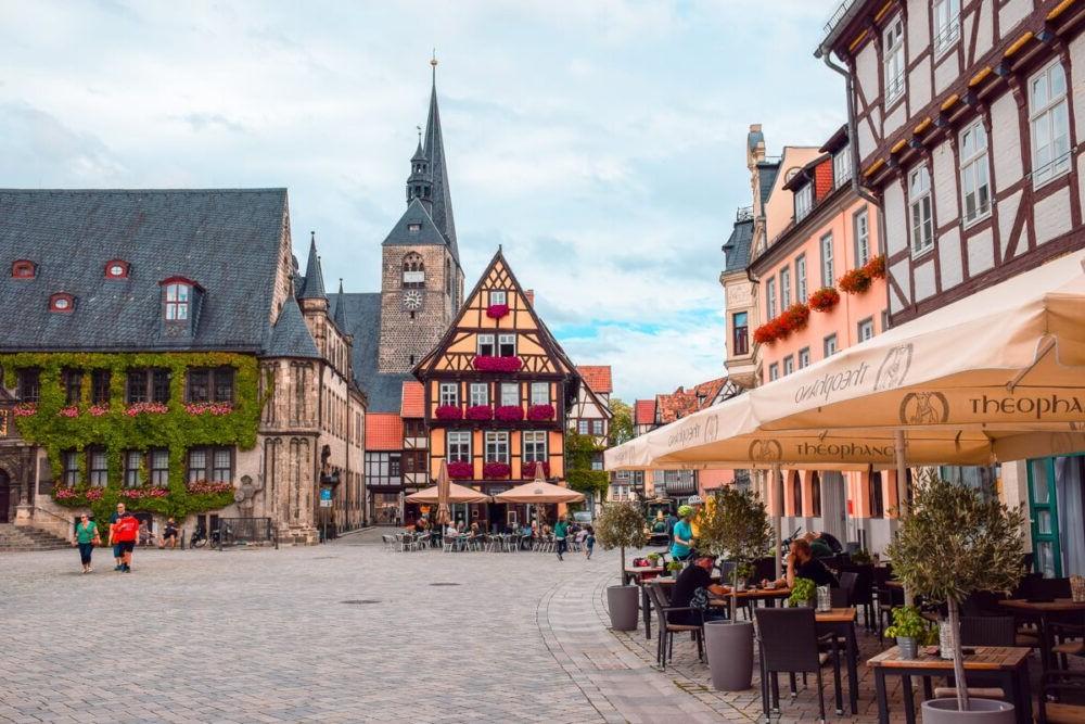 Destino Alemania Quedlinburg