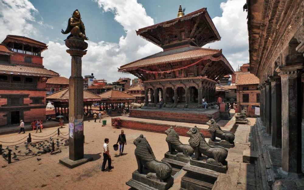 Destino Antigua ciudad de Patan