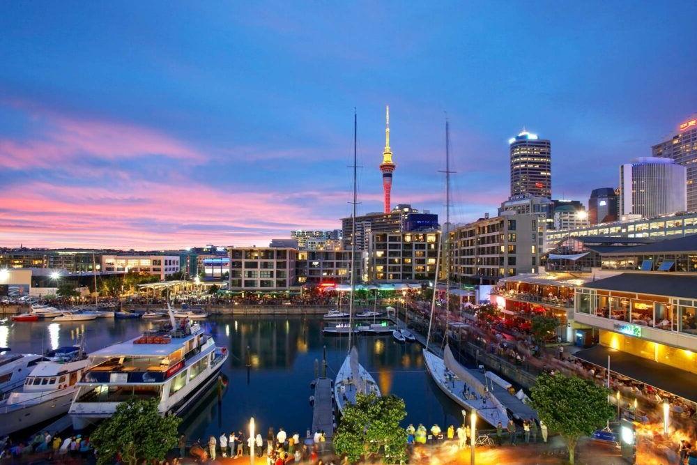 Destino Auckland New Zealand