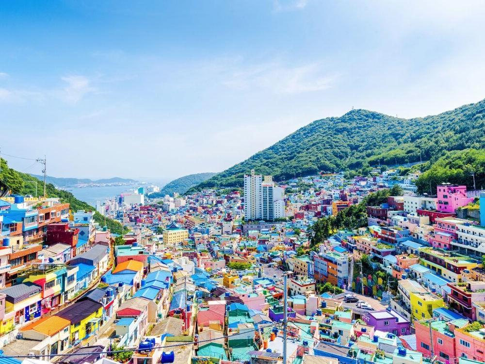 Destino Busan Korea