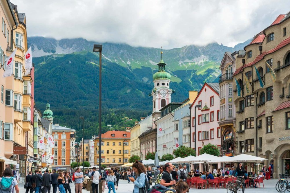 Destino Calle Maria Theresia Innsbruck