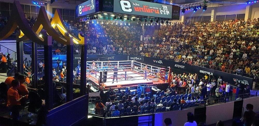 Destino Estadio de Boxeo Lumpinee tailandia
