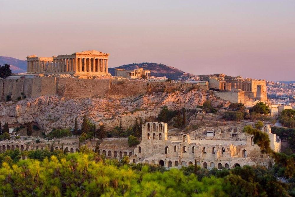 Destino Europa, Atenas