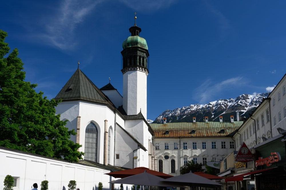 Destino Hofkirche Innsbruck