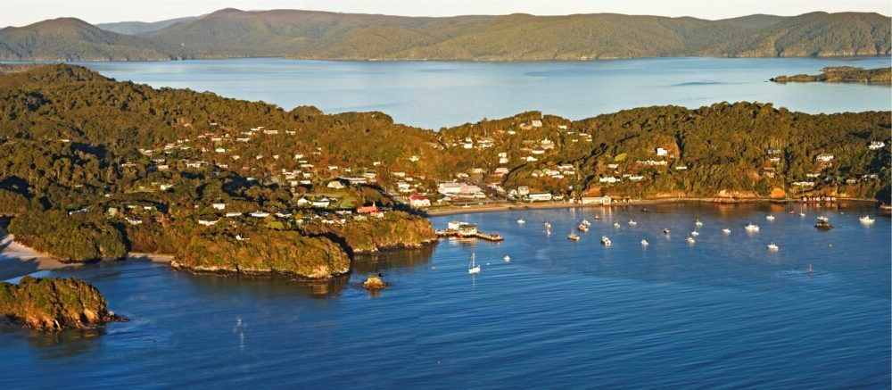 Destino Isla Stewart New Zealand