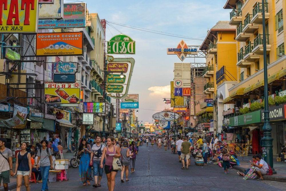Destino Khao San Road Tailandia