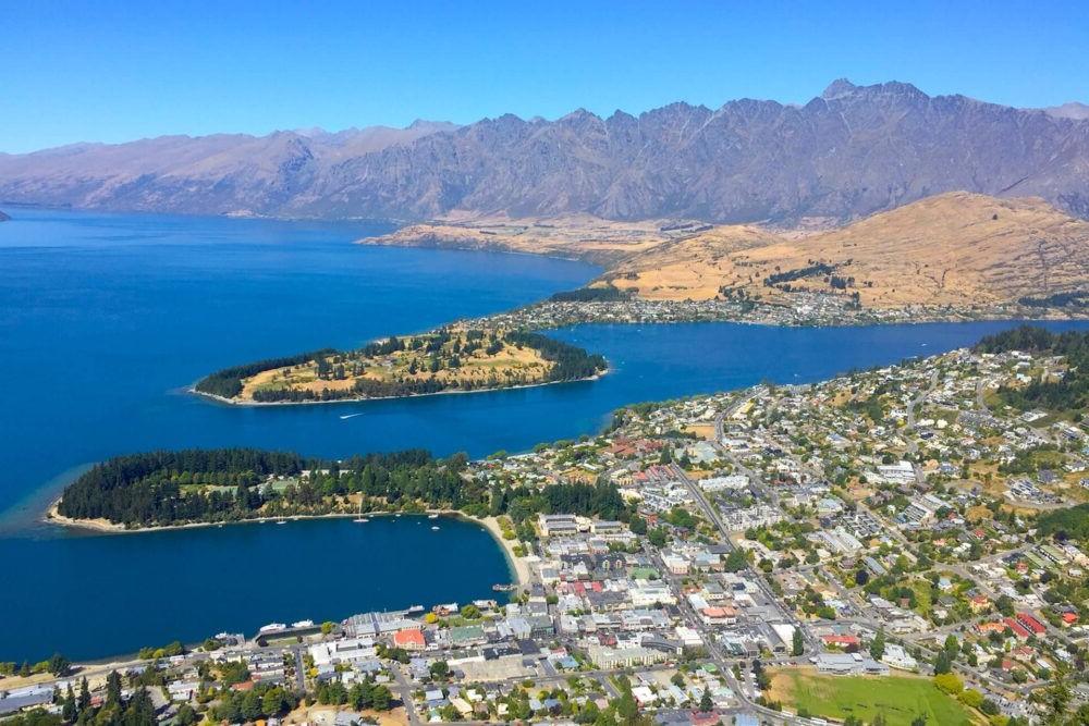 Destino Lago Wakatipu