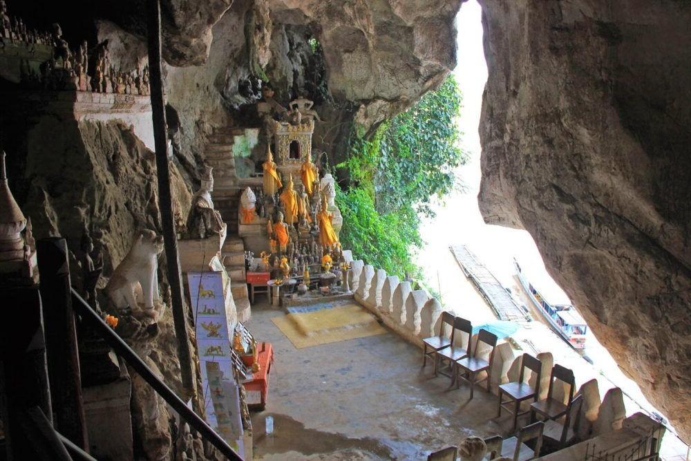 Destino Laos, Pak Ou Caves