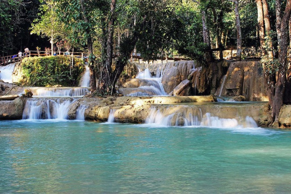 Destino Laos, Tad Sae Waterfalls