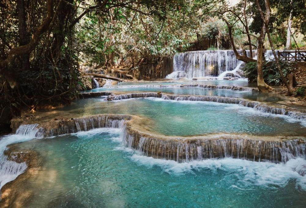 Destino Laos, kuang si falls