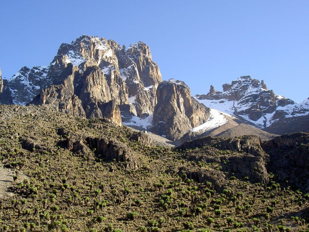 Destino Parque Nacional Mount Kenya