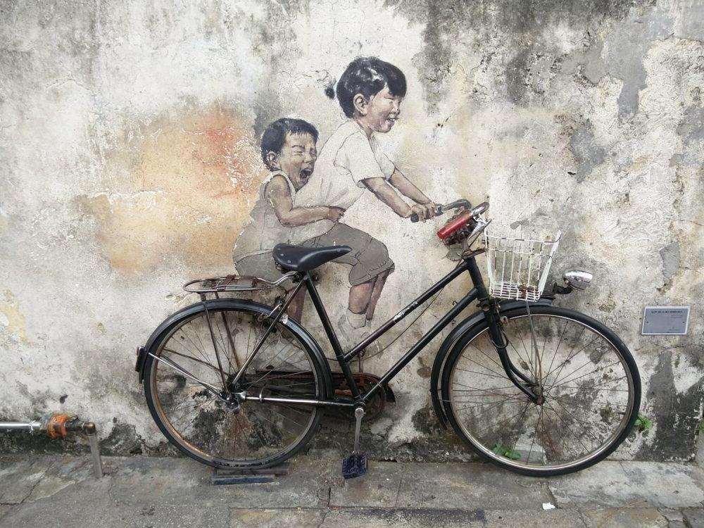 Destino Penang Street Art Penang Island