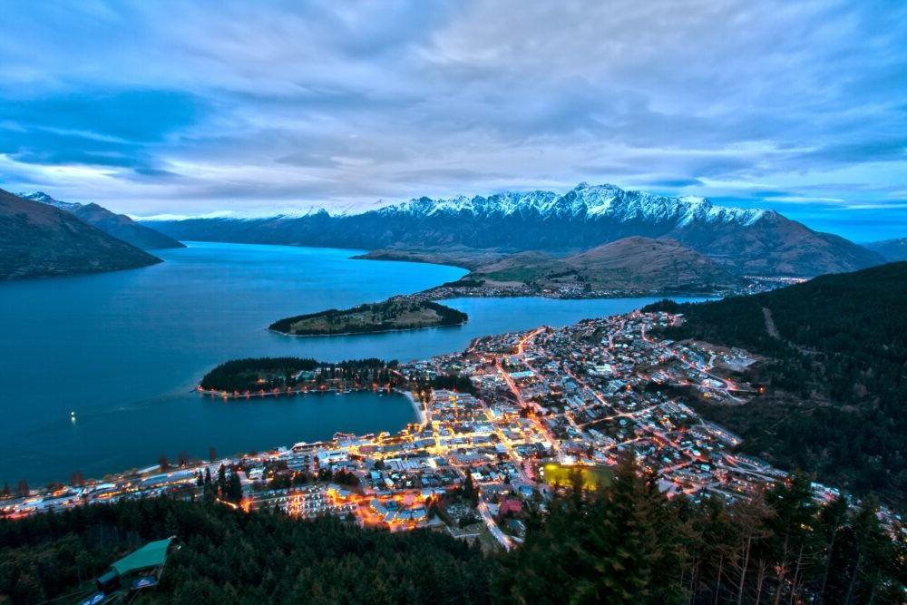 Destino Queenstown Nueva Zelanda