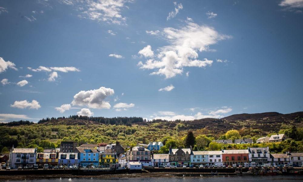 Destino Tarbert Escocia