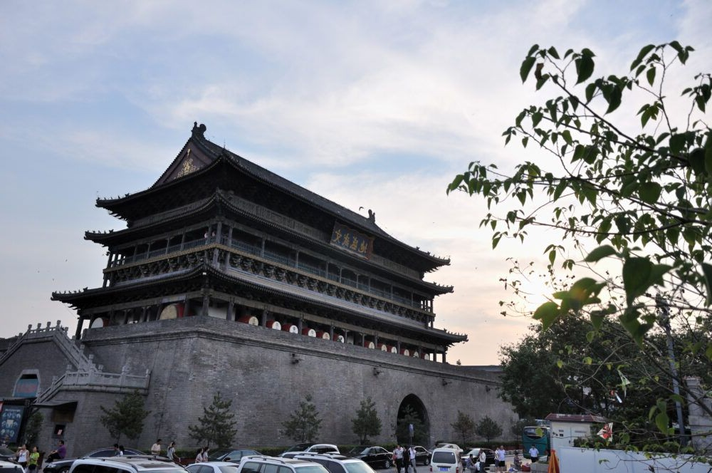 Destino Xi'an, Torre Drum