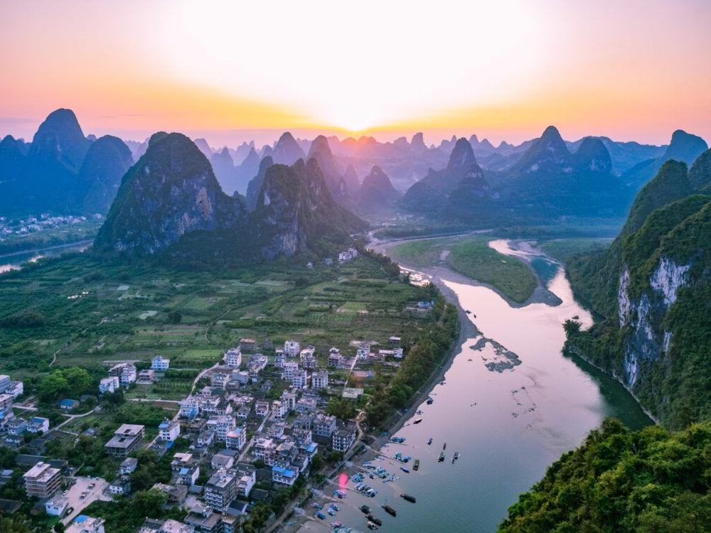 Destino Yangshuo, Guilin Laozhai Mountain