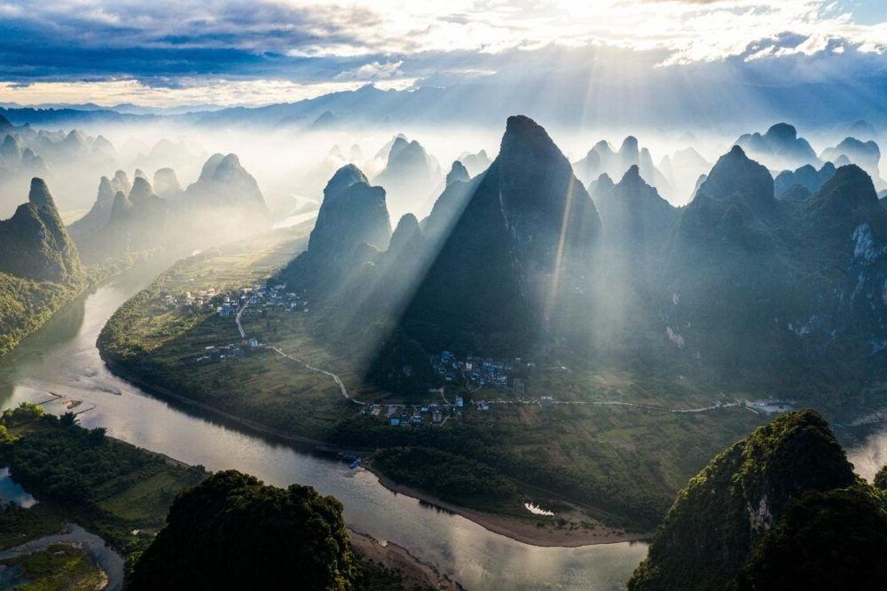 Destino Yangshuo, Montaña de Xianggong