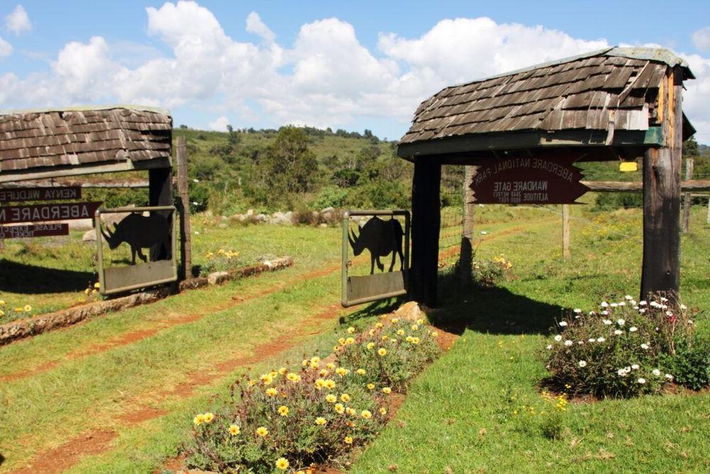 Destino kenía, Parque Nacional de Aberdare