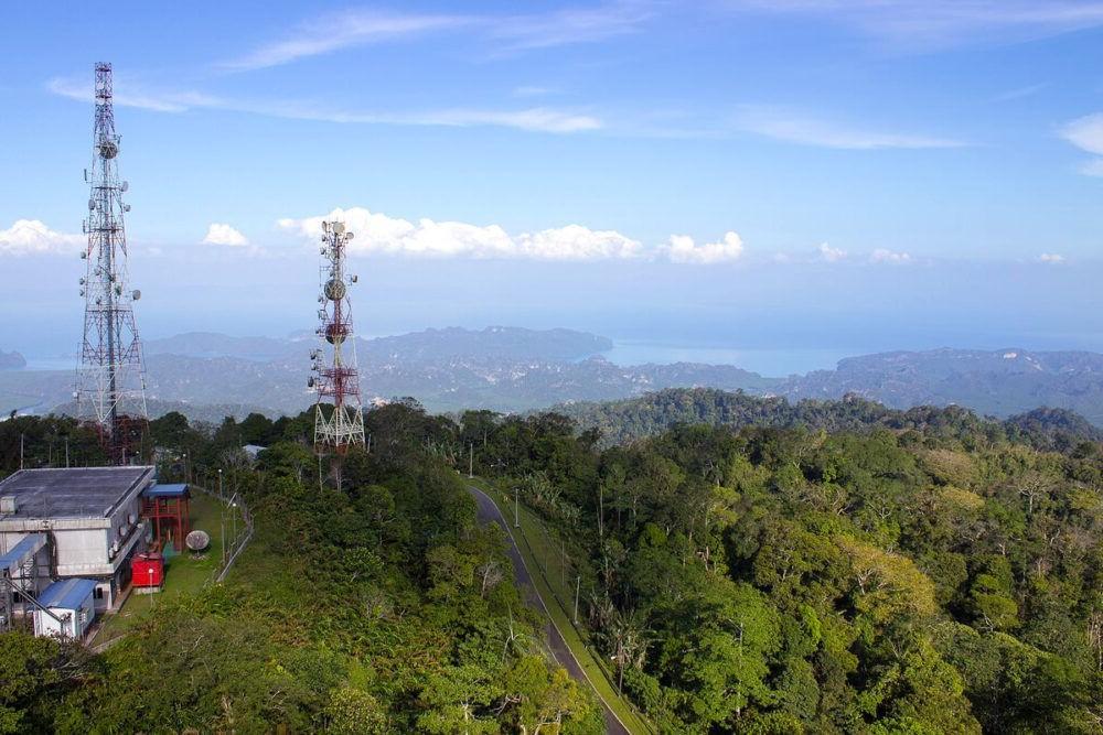 Destino turístico Gunung Raya Malasia