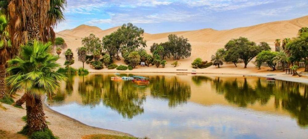 El desierto de Huacachina